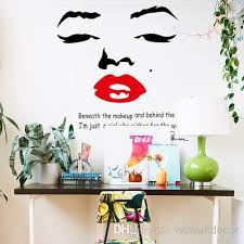 large marilyn monroe wall decals for girl room decorations pvc wall stickers quotes home decor photo wallpaper wall art poster sticker quotes for walls  on marilyn monroe wall art quotes with large marilyn monroe wall decals for girl room decorations pvc wall