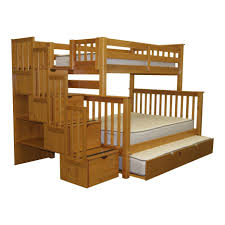 bunk beds twin over full bunk bed plan diy bunk beds with stairs queen over