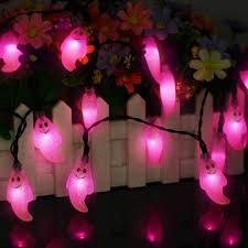 Decoratieve Led Zonne Energie Ghost Vormige Lichtslingers Luz De