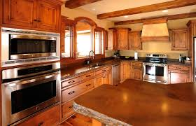 A Frame Kitchen Mullet Cabinet Rustic Kitchen Cabinets In Timber Frame Home