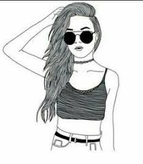 hipster hipster cool drawings drawing outline drawings