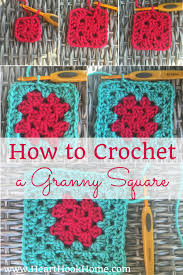 Basic Granny Square Pattern Custom How To Crochet A Classic Granny Square