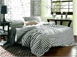 brown and white rugby stripe bedding black striped comforter furniture exciting