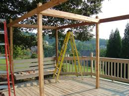 Simple Pergola how to build a backyard pergola hgtv 1600 by xevi.us