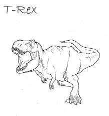 Small Picture 30 T Rex Coloring Pages ColoringStar