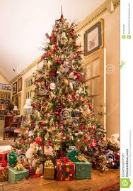 Royalty-Free Stock Photo. Download Presents Under Decorated Christmas Tree  ...