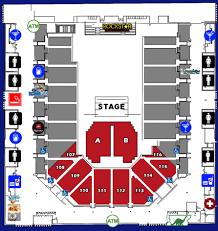 Nfr 2018 Seating Chart National Finals Rodeo Seating Chart Www Bedowntowndaytona Com