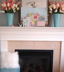 Precious Decorating Tips Amys Office Also Spring Fireplace Mantel Ideas S  Decoration Inspiration Fireplace Mantel Ideas