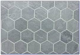 gray floor tile large hexagon unorthodox hexagonal tiles black hex splendid visualize with white penny grout
