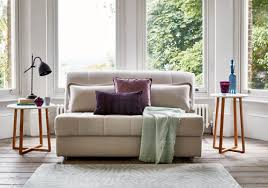 featured the appley sofa bed shown in linen cotton stone from 554