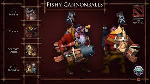 dota 2 sniper cap n fishy cannonballs polycount