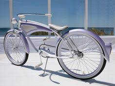 stretch beach cruiser bicycles custom made air ride suspension