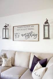 family wall decor stickers