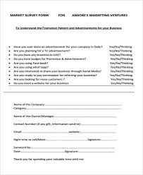 Surveys Questionnaires Examples Free 6 Marketing Research Questionnaire Examples Samples
