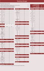 Example Budget Sheet Free Wedding Budget Worksheets 14 Templates For Excel