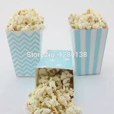 Decorative Popcorn Boxes 60pcs Party Favor Popcorn Boxes Baby Shower Wedding Birthday 8