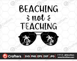 Make a cute diy water bottle, tote bag or swimsuit coverup to enjoy the summer sun! Beaching Not Teaching Svg Teacher Svg Summer Svg Beach Svg Free Photos