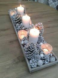 Fabulous christmas decoration ideas using candles Diy Holiday Pine Cone Centerpiecethese Are The Best Christmas Decorating Ideas Kitchen Fun With My Sons 60 Of The Best Diy Christmas Decorations Kitchen Fun With My Sons
