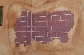 Custom Faux Brick