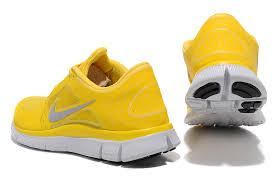 nike yellow shoes. mens nike free run+ 3 shoes yellow
