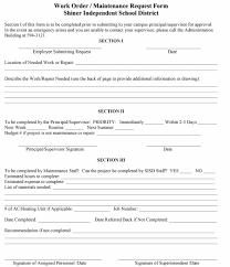 Printable Work Order Forms 40 Order Form Templates Work Order Change Order More