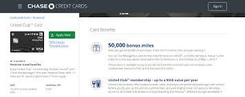 chase united mileageplus club card bill