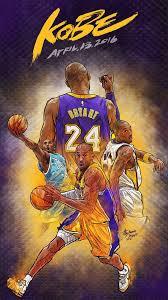 Kobe Bryant Cartoon Wallpaper Hd
