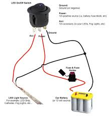 led rocker switch wiring diagrams 3 Wire Switch Wiring Diagram Simple 3 -Way Switch Diagram