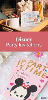 Disney Evites Kids Party Invitations The Ultimate Guide Disney Family