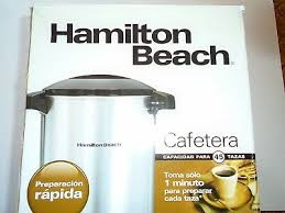 Hamilton beach coffee urns brew about a cup per minute and an indicator light lets you know when the coffee is ready. 40515r Silver Hamilton Beach 45 Cup Coffee Urn And Hot Beverage Dispenser Serveware Assetrak Beverage Serveware