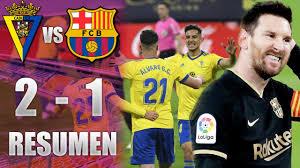 Cádiz vs Barcelona [2-1] | GOLES y RESUMEN