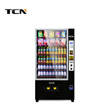 Milk Vending Machine Manufacturer Beauteous China Tcn Smart Automatic Milk Snack Drink Vending Machine