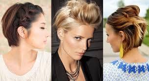 Impressionnant 20 Idées De Coiffures Pour Cheveux Courts
