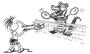Giochi Di Rinvio Con Bambini Tennis Il Coccodrillo Mobilesportch