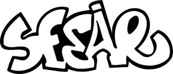 Sesar Graffiti Kleurplaat Gratis Kleurplaten Printen