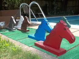 Wooden Horse Race Game How To Make Wooden Horse Race Game Diy Dog Crate Table 98