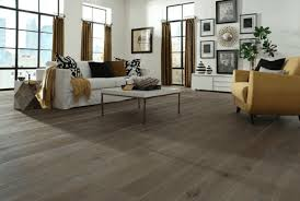 hardwood flooring in a modern living room