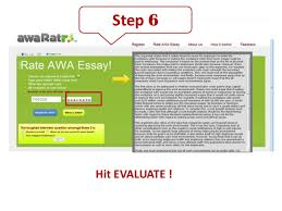 essay rater for gmat awa gre toefl how to guide step 6hit evaluate