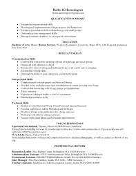 Skills For Resume Skill Resume Resume Templates 19