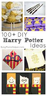 100 diy harry potter ideas busy moms