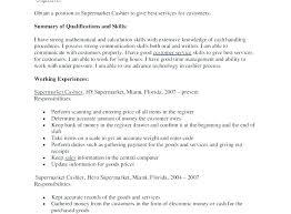 Resume Objectives For Cashier Job Description Resume Samples Cashier ...