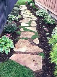 flagging stepping stone pathway stones for garden path paths uk walkway ideas