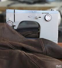 leather flight jacket repair