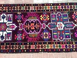 purple rug runner dark