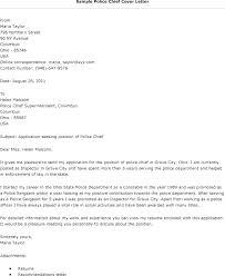 Sample Police Officer Resume Police Chief Resume Cover Letter Police