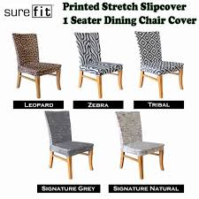 sure fit patio furniture covers. Printed Stretch Slipcover 1 Seater Dining Chair Covers Choose Your Design By Surefit Sure Fit Patio Furniture R
