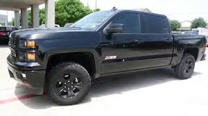 All Chevy chevy 1500 leveling kit : 2015 Chevrolet Silverado Midnight Edition Leveling Kit by 4x4Works ...