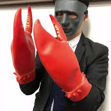 1 Pair Crab Lobster Claws Gloves ...