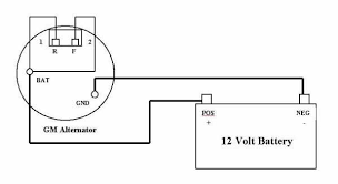 single wire alternator diagram Single Wire Alternator Wiring Diagram gm single wire alternator wiring diagram single wire alternator wiring diagram 70 nova