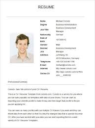 Simple Resume Example Fascinating Basic Resume Template For Senior HR Professional Simple Resumes